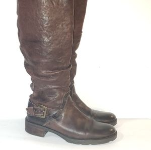 Size 10M/ 42 winter leather boots  Manas design